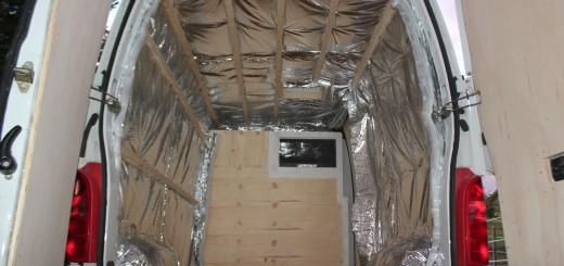 Pose du lanterneau poimobile for Pose isolant mince plafond garage