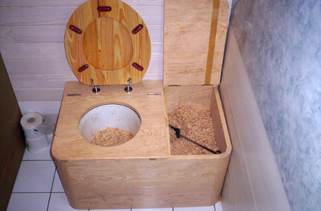 Toilettes s ches comment a fonctionne poimobile fourgon am nag - Plan de toilettes seches ...