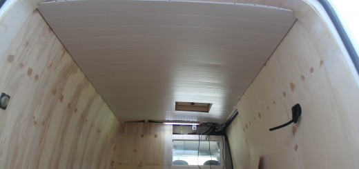 lambris au plafond
