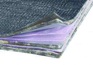 Isolant mince composé de plusieurs couches