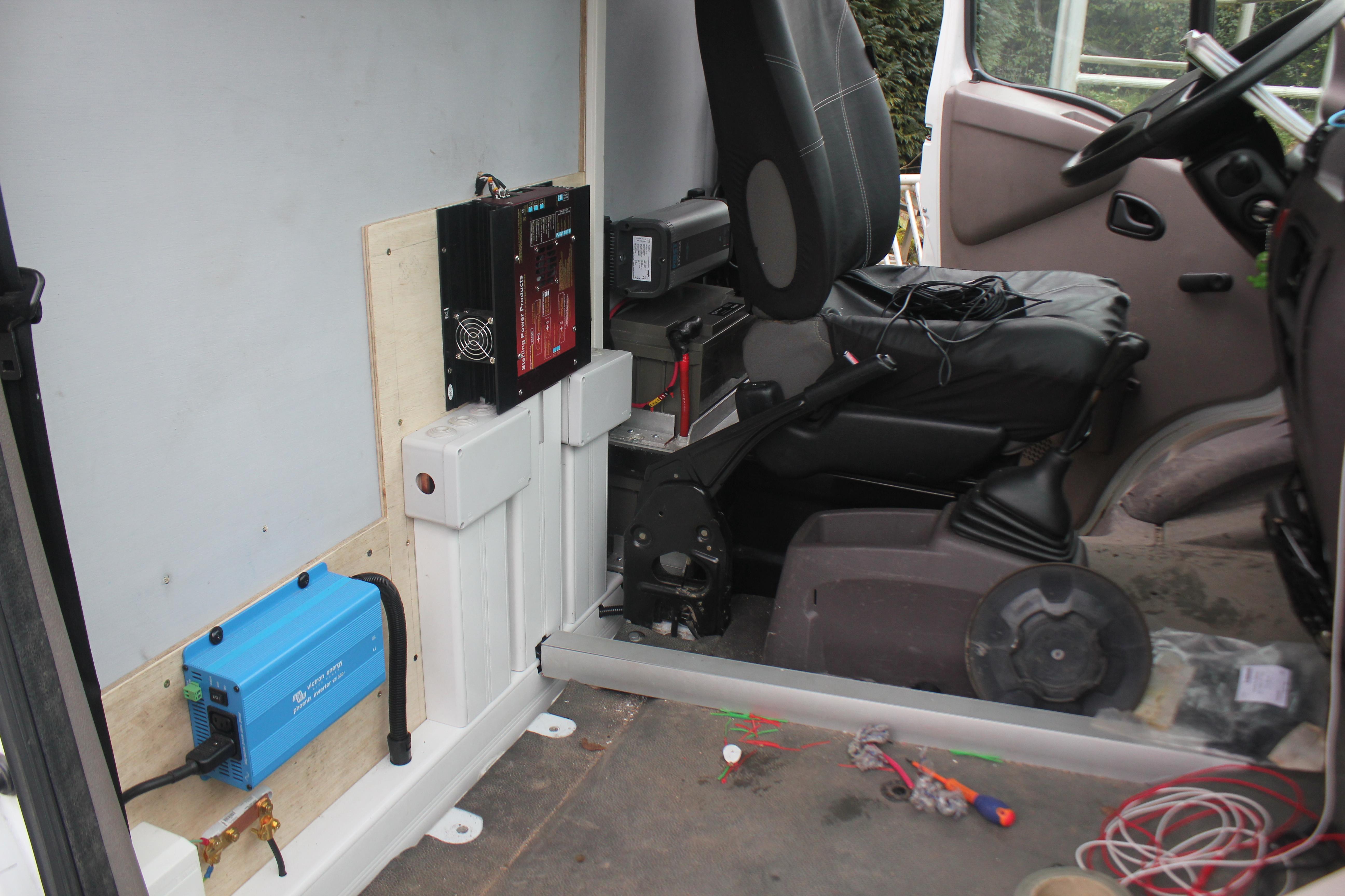 Préférence Branchement de l'installation électrique - Poimobile - Fourgon Aménagé OP99