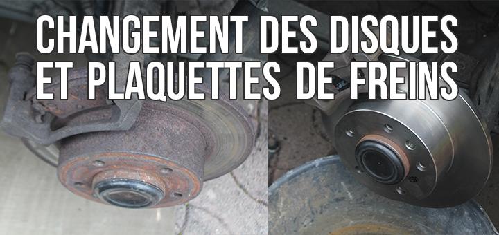 Changer les plaquettes et disques de freins d 39 un renault for Garage changement plaquette de frein