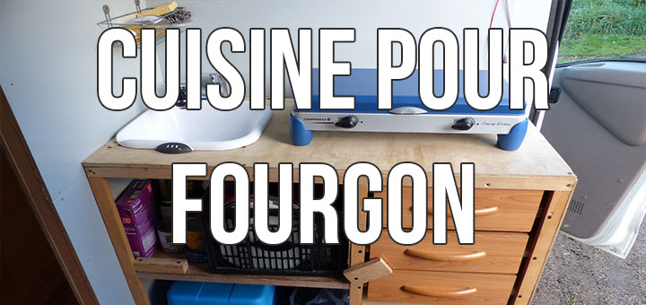 Meuble de cuisine pour fourgon aménagé