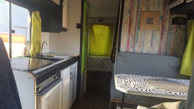 camping car aménagé à vendre
