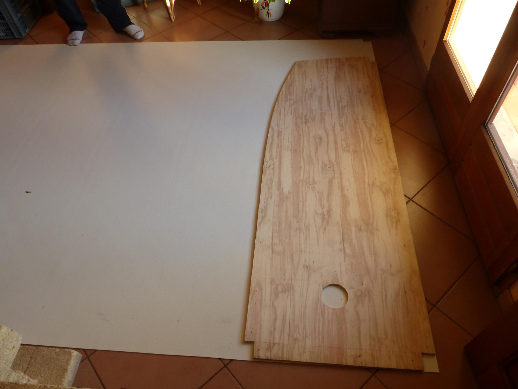habillage de la douche du fourgon poimobile fourgon am nag. Black Bedroom Furniture Sets. Home Design Ideas