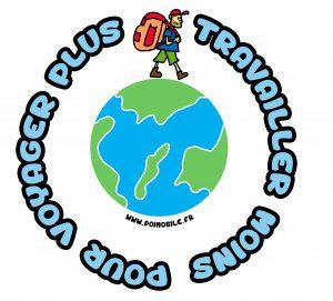 Sticker Travailler moins pour voyager plus