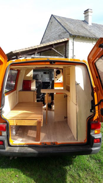 fourgon amenage volkswagen t4