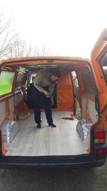 fourgon amenage volkswagen t4