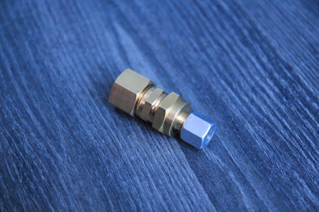 adaptateur pour le gaz du chauffe eau