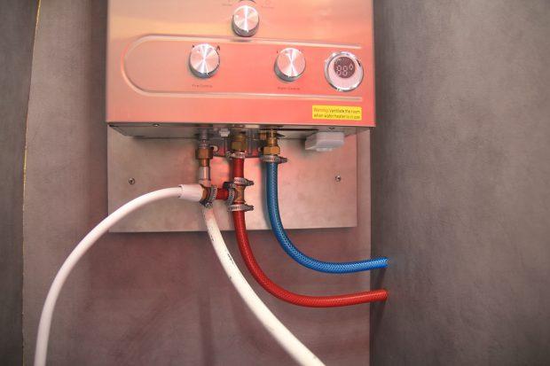 branchements du chauffe-eau FASTAR