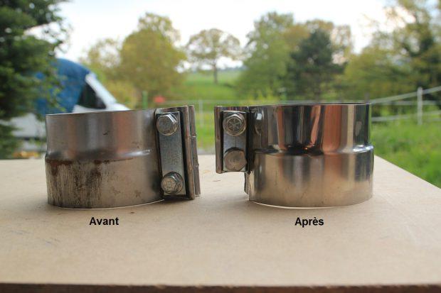 Collier de serrage modifié