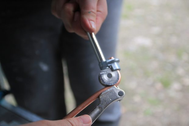 cintrage des tuyaux de cuivre recuit