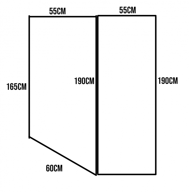 schéma matelas sur mesure fourgon