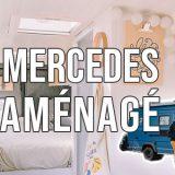 Aménagement d'un van Mercedes