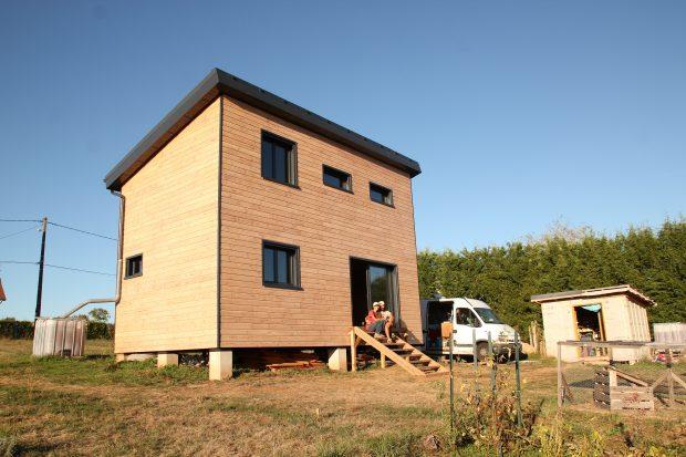 Récupération sciure bois autoconstruction maison