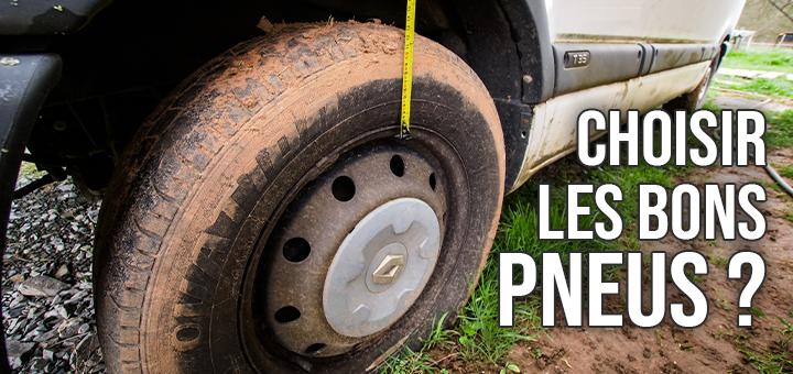 Choisir les bons pneus ?
