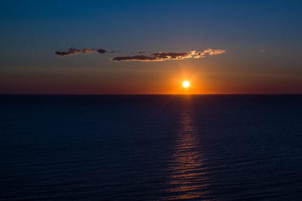 Couché de soleil en Espagne