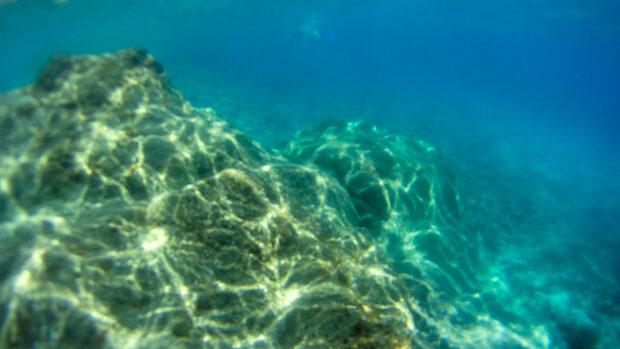 Paysage sous-marin en espagne