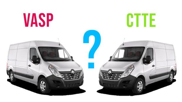 Assurance fourgon en VASP ou CTTE